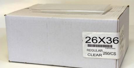 26X36 REG CLEAR 250/CS