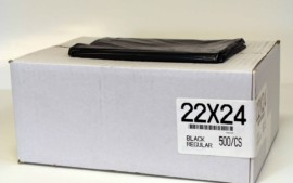 22×24 REG BLACK 500/CS