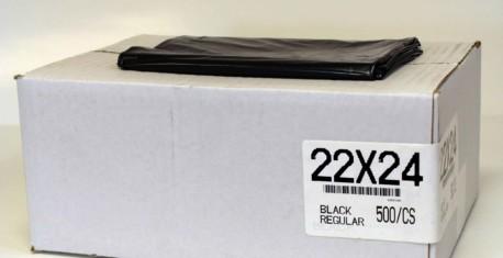 22×24 REG BLACK 500/CS