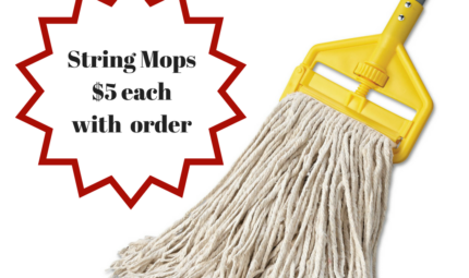 STRING MOP SALE