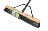 PUSH BROOM 24″ INDOOR/ OUTDOOR MEDIUM BRISTLE WITH 54″ METAL HANDLE